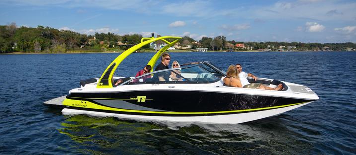 Four Winns TS222: Stern Drive Wake Surfing - boats com