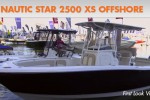 Nautic Star 2500 XS Offshore center console boat first look video