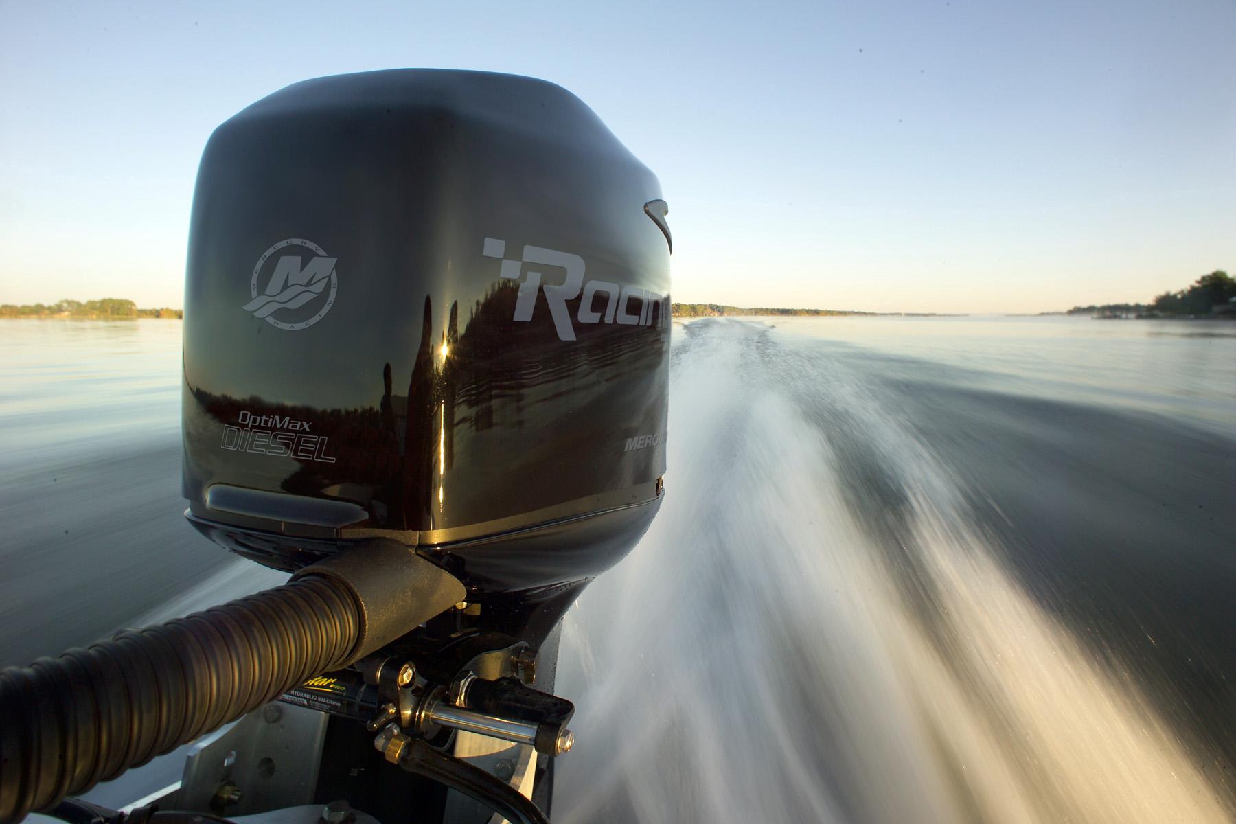 Mercury Racing OptiMax… Diesel? Yes, Diesel  - boats com