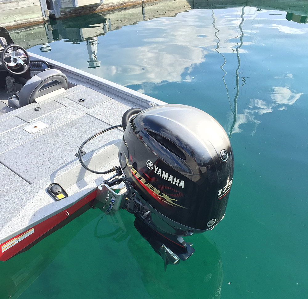 Xpress x19 ballistic bass boat for Yamaha vmax outboard review