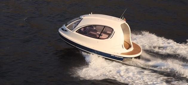 Jet Capsule cool looking boat