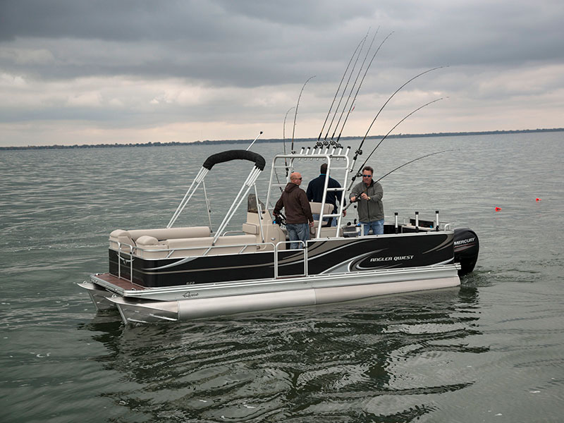 Saltwater fishing boats for Fishing pontoon boats for sale