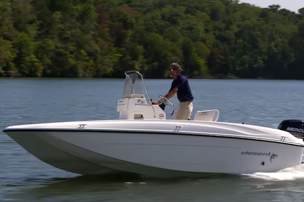 Bayliner Element F18 Video Boat Review Boats Com