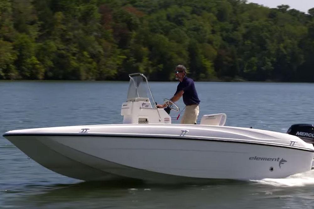 Bayliner element f18 video boat review for Trolling motor for 18 foot boat