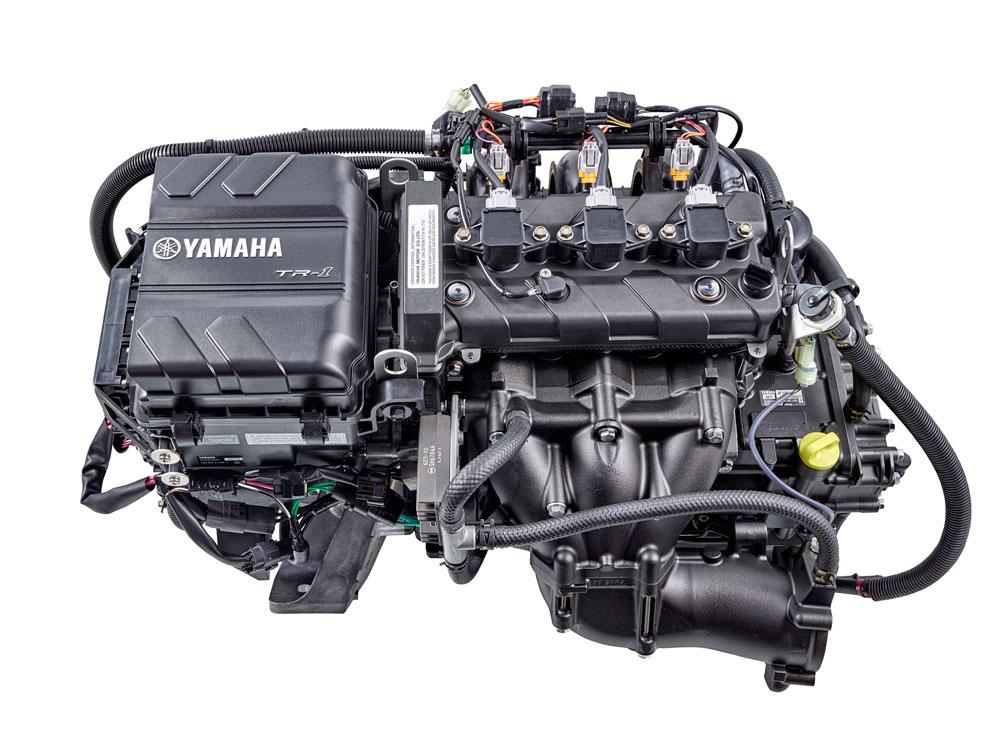 new yamaha waverunner tr 1 ho engine ushers in era of