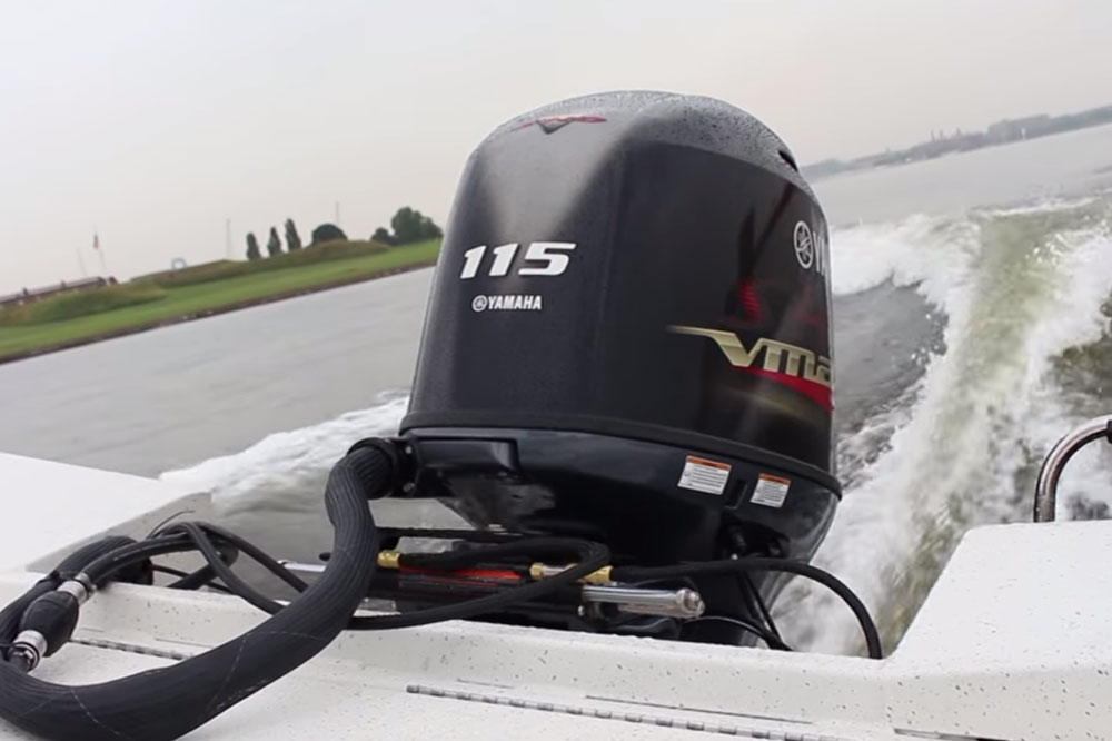The outboard expert yamaha f350 meet the new boss for Yamaha vmax outboard review