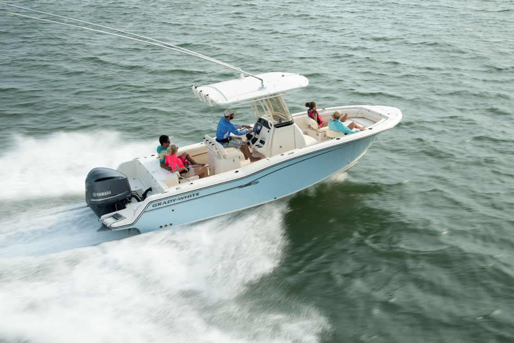 Grady white fisherman 236 center stage for Grady white fishing boats