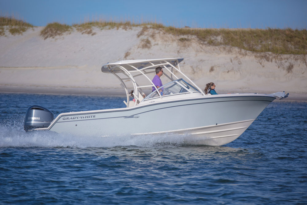 Grady white freedom 235 review for Grady white fishing boats