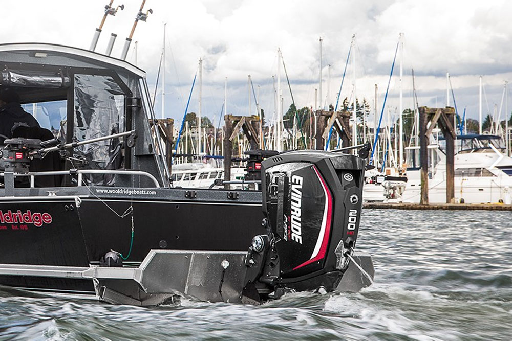 Evinrude E-TEC G2 200 HO Outboard: First Look Video