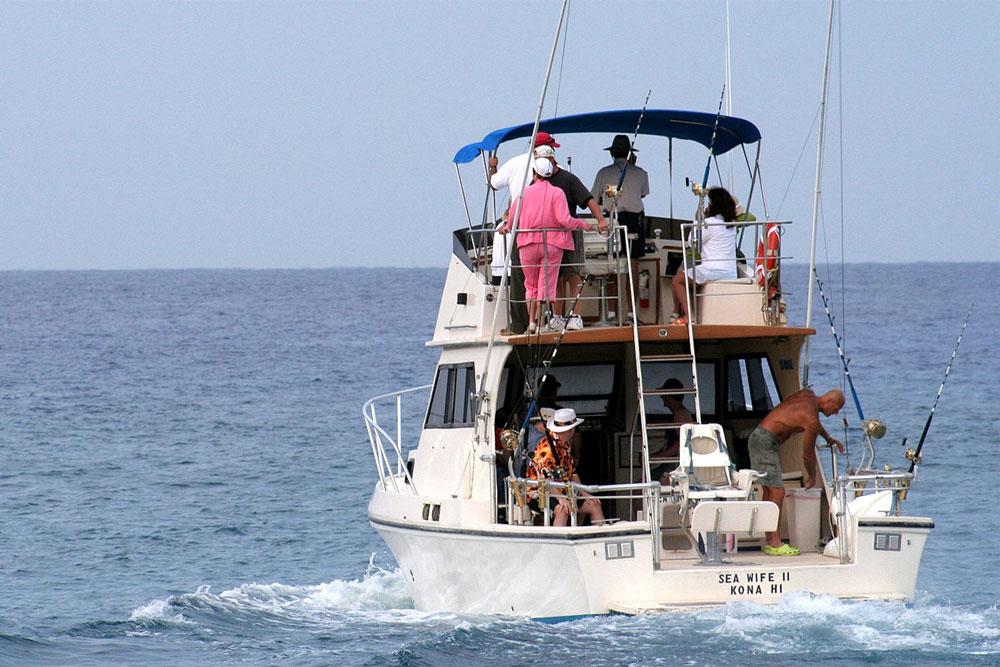 Destinations for deep sea fishing for Kona deep sea fishing