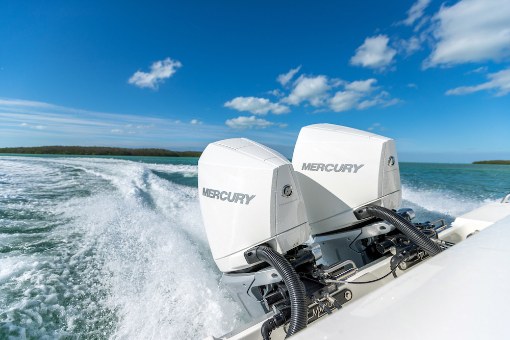 New Mercury V-8 Outboards Revealed
