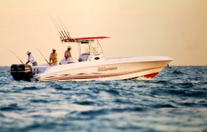 Wellcraft Scarab 35 Sport: Fish Fast