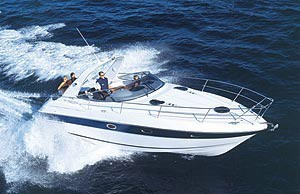 Bavaria Motor Boat 32 Sport: Sea Trial