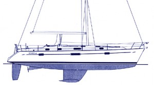 Beneteau 411: Blue Water Boat