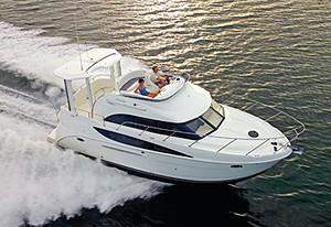Meridian 368 Motoryacht: Sea Trial