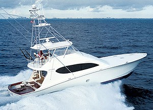 Hatteras 68C: Sea Trial