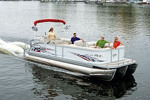 Crest Pontoons Caribbean 2570: Go Boating Review