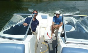 Bayliner 235 BR Boat Test Notes