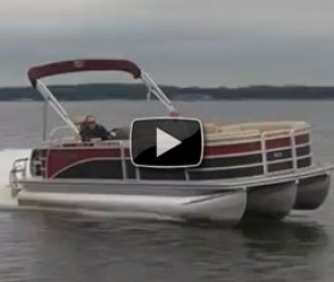 Harris FloteBote Sunliner LS 220: Video Boat Review