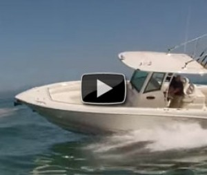 2012 Boston Whaler 320 Outrage: Video Boat Review