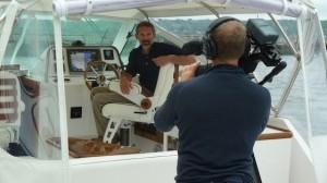 Hunt Harrier 36 Shaft Drive Boat Test Notes