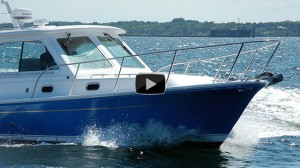 Hunt Harrier 36 IPS: Video Boat Review
