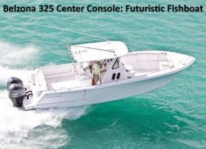 Belzona 325 Center Console: A Futuristic Fishboat with Flair