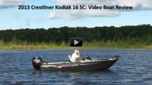 2013 Crestliner Kodiak 16 SC: Video Boat Review