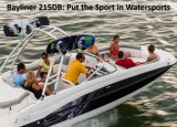 Bayliner 215DB: Put the Sport in Watersports