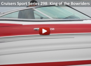 Cruisers Sport Series 298: Video Boat Review
