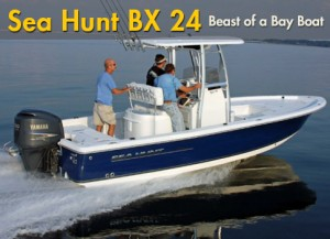 Sea Hunt BX 24 BR: Beast of a Bay Boat