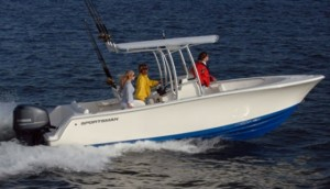 Sportsman Heritage 229 Center Console: Fish or Cut Bait