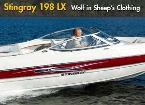 Stingray 198 LX: Classic Bowrider