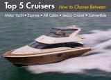 Top 5 Cruisers: Motor Yacht, Express, Aft Cabin, Sedan Cruiser, and Convertible Boats