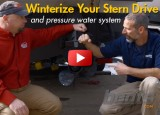 How to Winterize Your Stern Drive and Pressure Water System