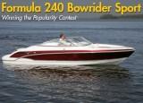 Formula 240 Bowrider Sport: Popularity Contest