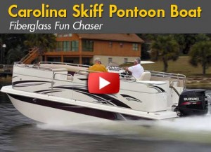 Material Difference: Carolina Skiff Introduces the Fun Chaser FGP 2100 Pontoon Boat