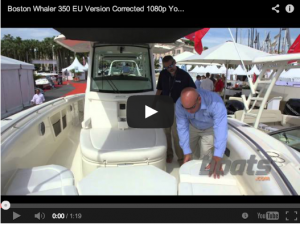 Video First Look: Boston Whaler 350 EU Edition