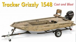 Tracker Grizzly 1548 Sportsman: Cast and Blast