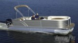2014 Cypress Cay Cozumel 240 Pontoon: Video Boat Review