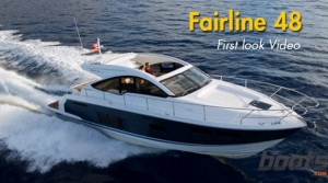 2014 Fairline 48 Open: First Look Video