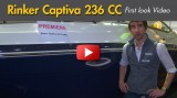 2014 Rinker Captiva 236 CC: First Look Video