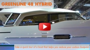 2014 Greenline 48 Hybrid: First Look Video