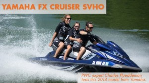 2014 Yamaha FX Cruiser SVHO PWC Test: Unrestrained Performance and Luxury
