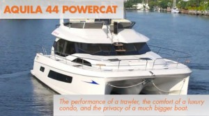 Aquila 44: Power Catamaran or Trawler? Yes.