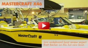 2014 MasterCraft X46: First Look Video