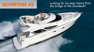 Silverton 43 Sport Bridge Boat Review: Walk This Way