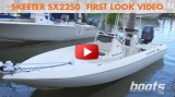 2014 Skeeter SX2250: First Look Video