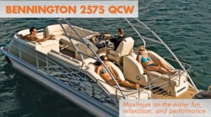 Bennington 2575 QCW Pontoon Boat Review: Top Shelf Fun