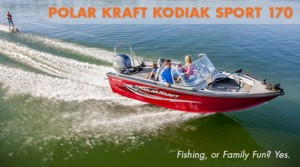 Polar Kraft Kodiak Sport 170: Fishing, or Family Fun? Yes.